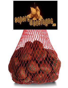 Castagne Fresche confezioni da 1 kg per la grande distribuzione